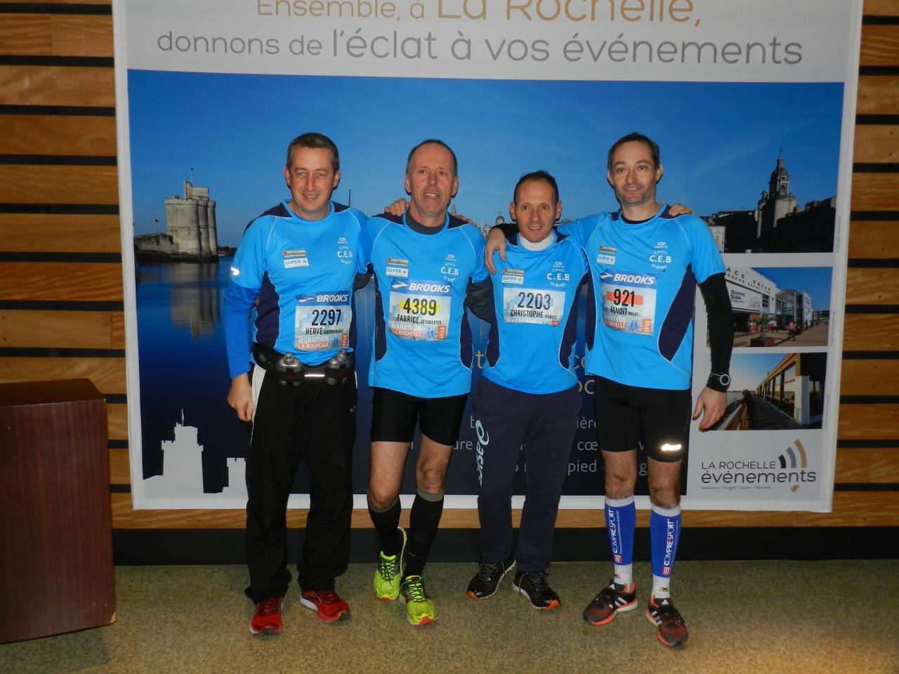 27 novembre 2016 : Marathon de La Rochelle