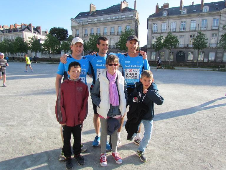 19 avril 2015 : Marathon de Nantes