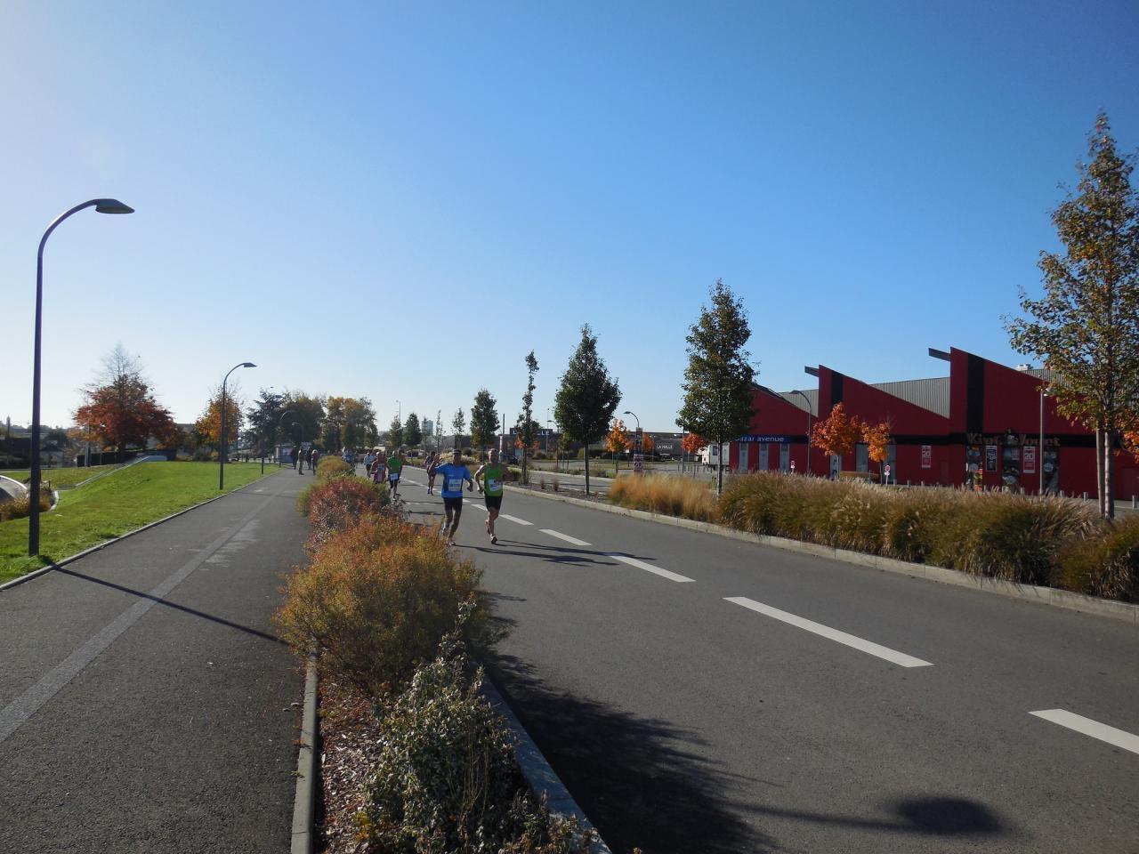 25 octobre 2015 : Marathon de Rennes